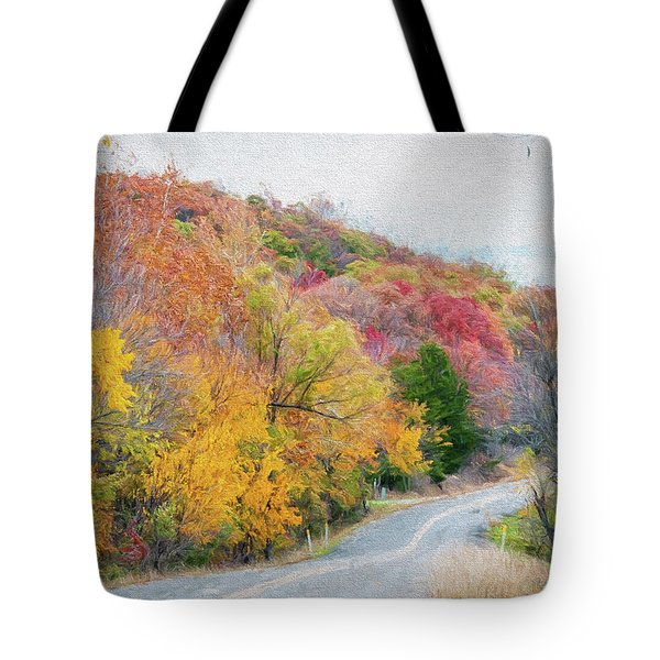 Fall In Southern Oklahoma Tote Bag