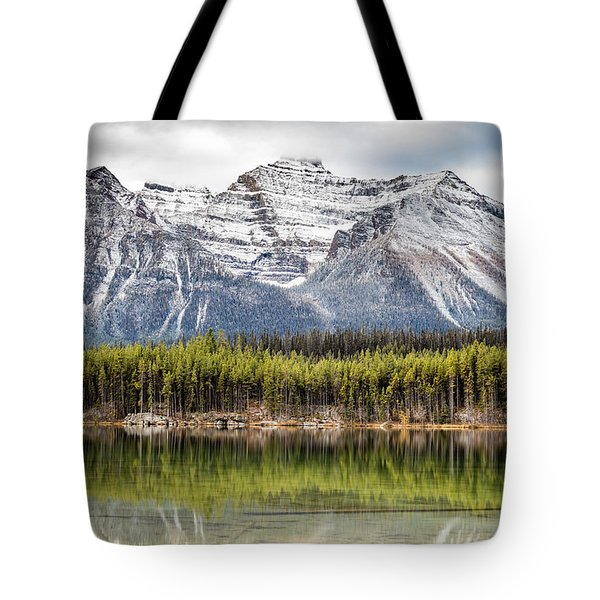 Fall In The Canadian Rockies Tote Bag by Pierre Leclerc Photography