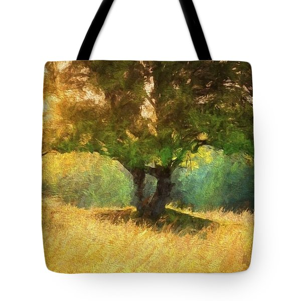 Fall In The Meadow Tote Bag