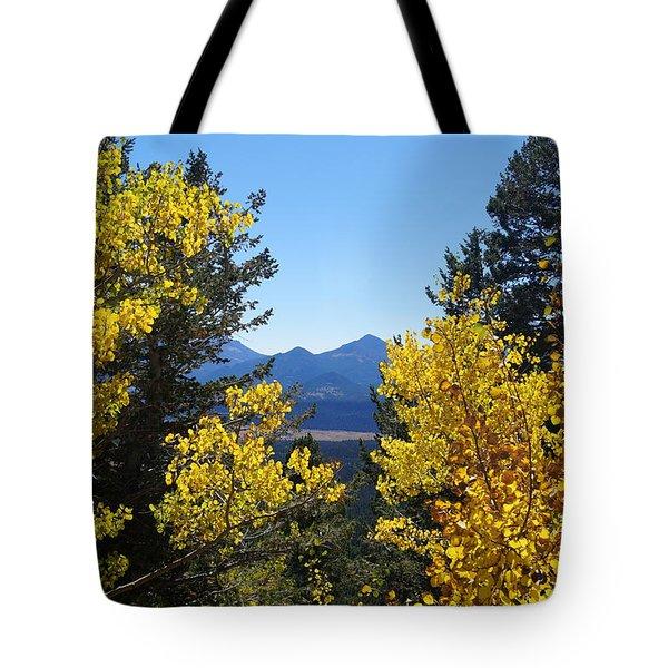 Fall In The Rockies Tote Bag