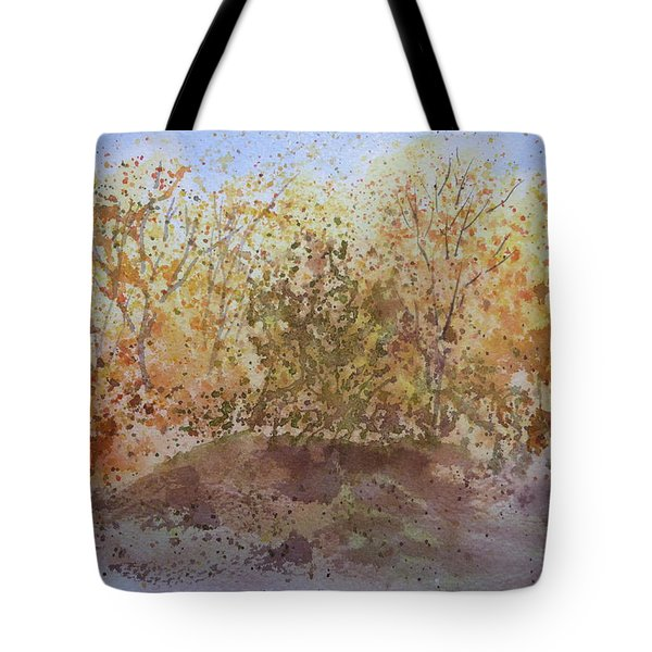 Fall In The Tejas High Country Tote Bag