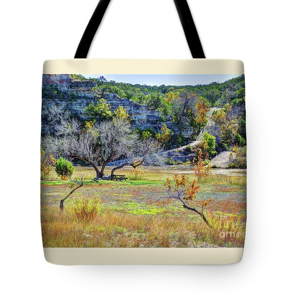 Fall In The Texas Hill Country Tote Bag