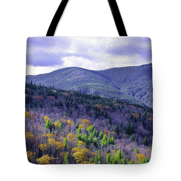 Fall In The White Mountains Tote Bag