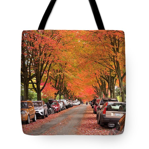 Fall In Vancouver 2017 1 Tote Bag