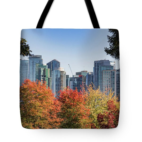 Fall In Vancouver Tote Bag