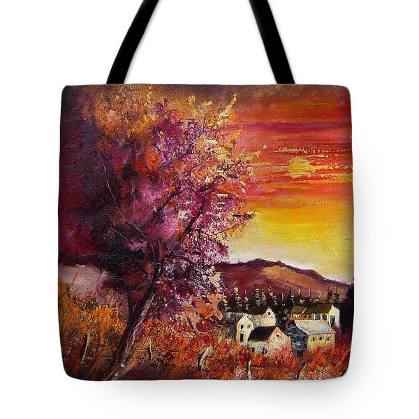 Fall In Villers Tote Bag by Pol Ledent