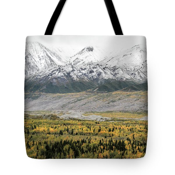 Fall In Wrangell - St. Elias Tote Bag