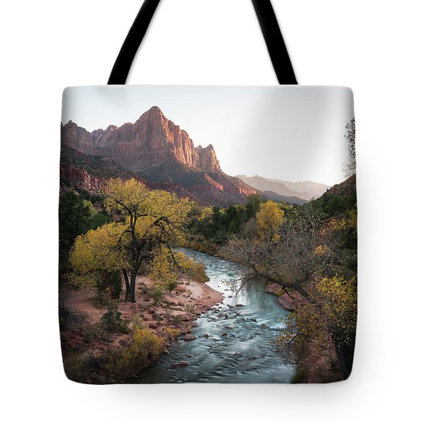 Fall In Zion National Park Tote Bag