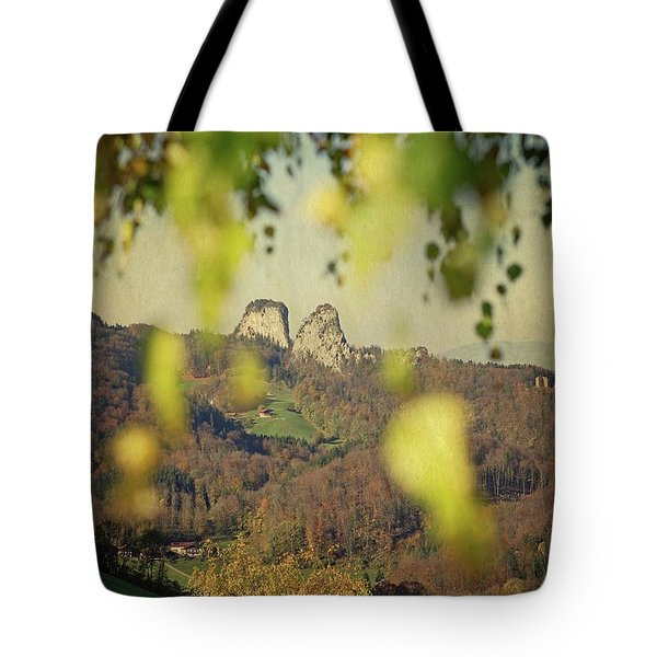 Fall-ing Leaves Tote Bag