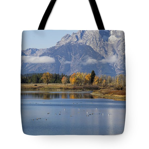 Fall Inteton -3 Tote Bag by Shirley Mitchell