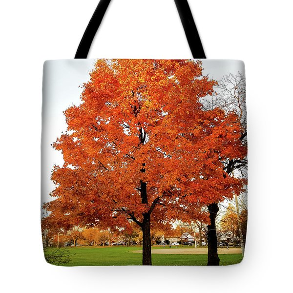 Fall Is Coming Tote Bag