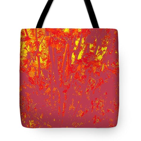 Fall Leaves #4 Tote Bag
