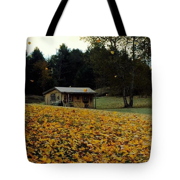 Fall Leaves - No. 2015 Tote Bag
