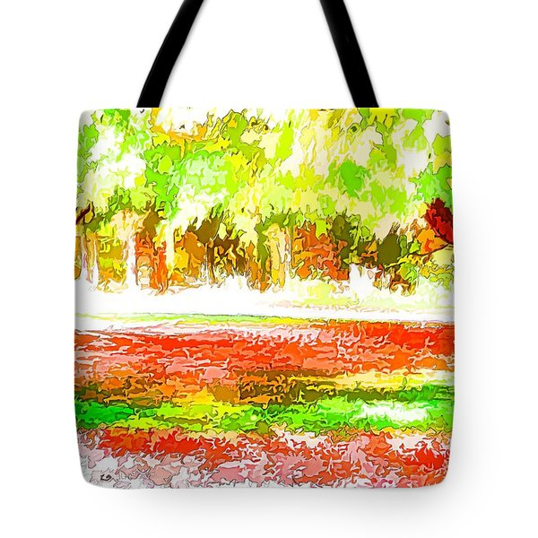 Fall Leaves Trees 2 Tote Bag by Lanjee Chee