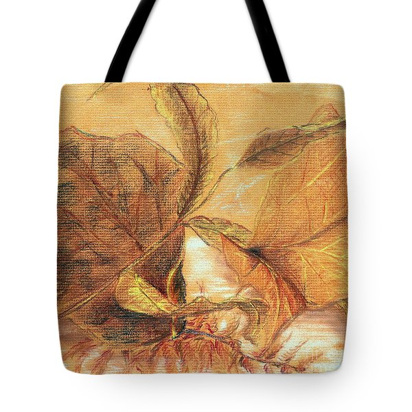 Fall Leaves Tote Bag by Vonda Lawson-Rosa