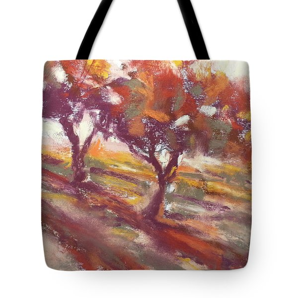 Fall Light Tote Bag
