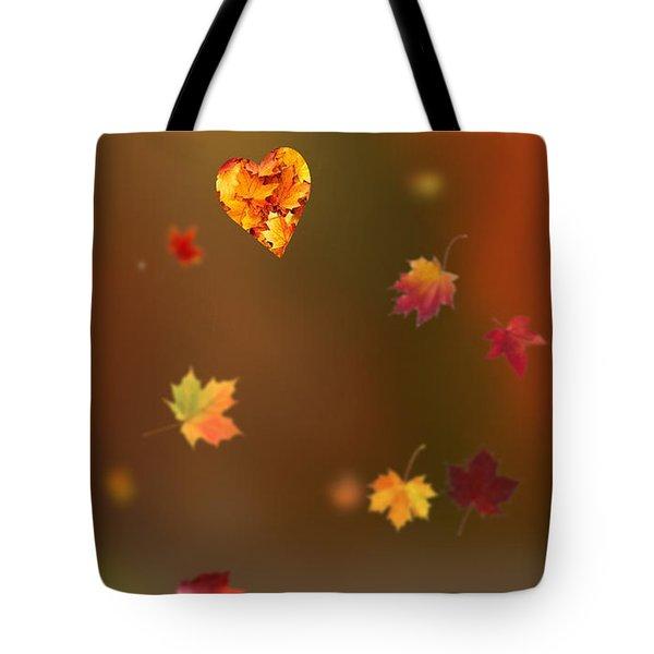 Fall Love Tote Bag