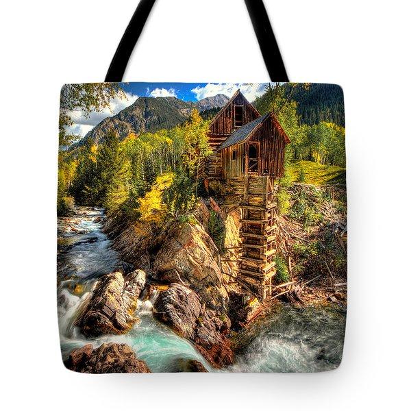 Fall N Mill  Tote Bag