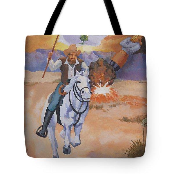 Fall Of Babylon Tote Bag