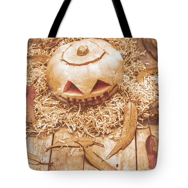 Fall Of Halloween Tote Bag