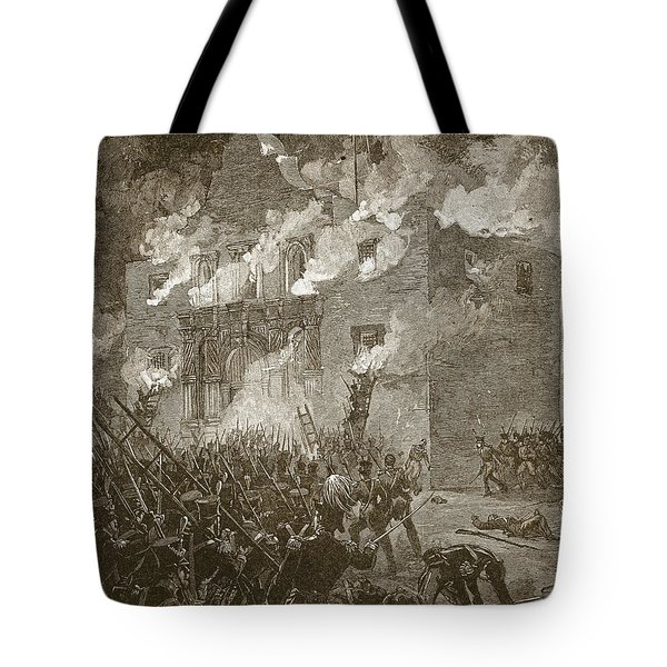 Fall Of The Alamo Tote Bag