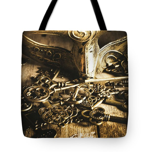 Fall Of The King Tote Bag