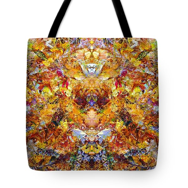 Fall Of The Leaf Gods  Tote Bag