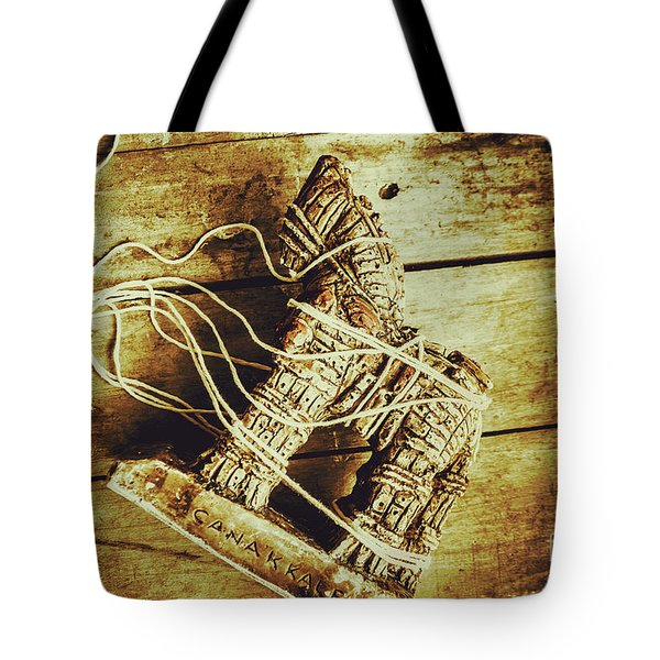 Fall Of Troy Tote Bag