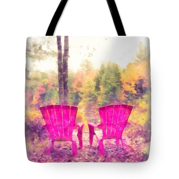 Fall On Anderson Pond Eastman Grantham New Hampshire Tote Bag