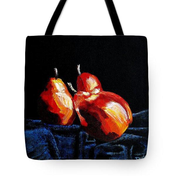 Fall On Me Tote Bag