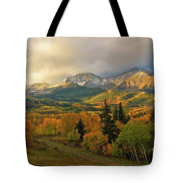 Fall On Mt Sopris  Tote Bag
