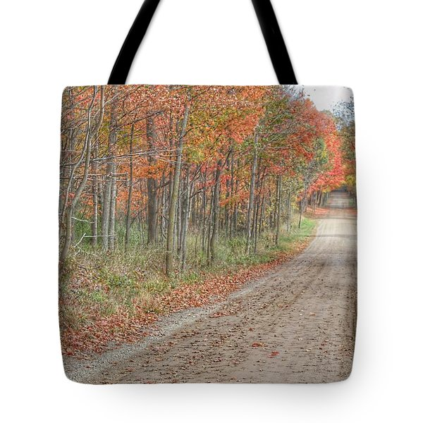 9018 - Fall On Murphy Lake Iv Tote Bag