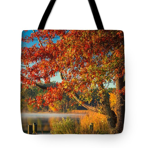Fall On The Patuxent Tote Bag