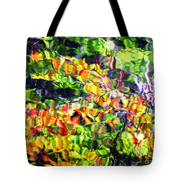 Tote Bag featuring the photograph Fall On The Pond by Melissa Stoudt