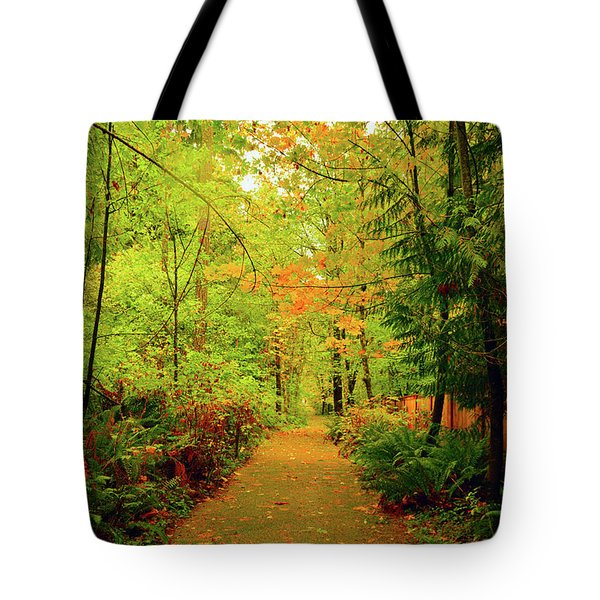 Fall Path Too Tote Bag