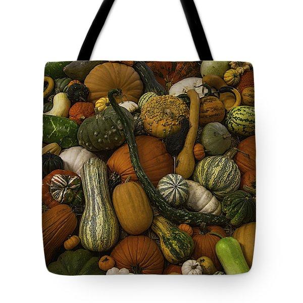 Fall Pile Tote Bag
