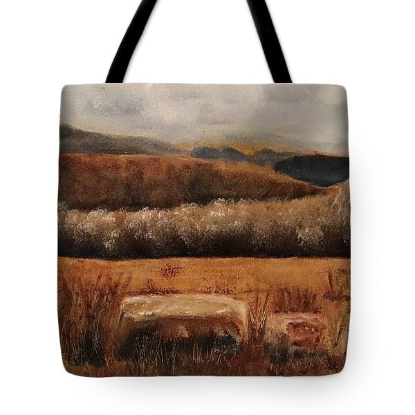 Fall Plains Tote Bag