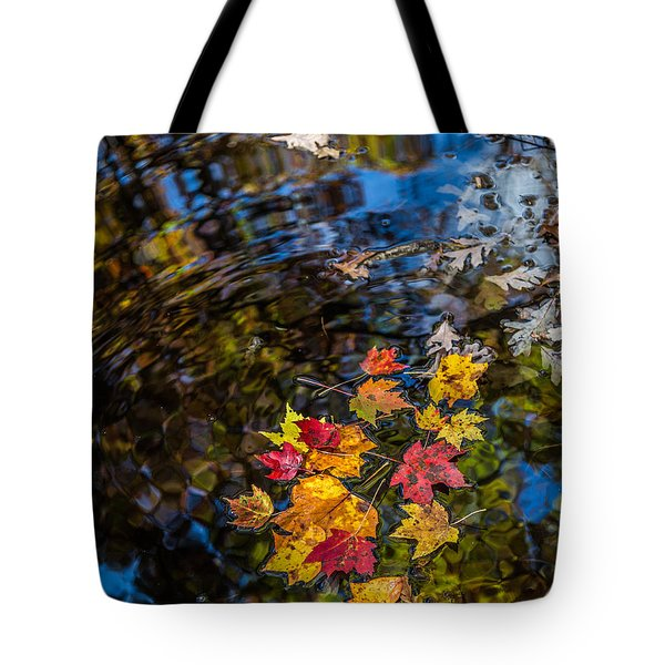 Fall Reflection - Pisgah National Forest Tote Bag