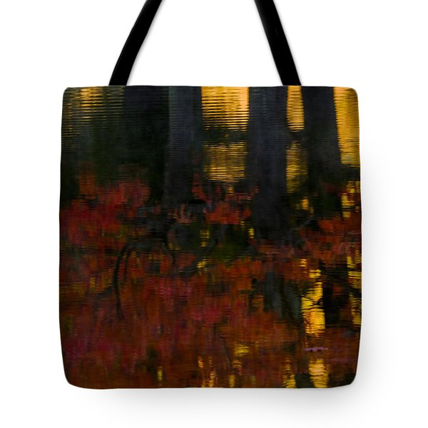 Fall Reflections 2 Tote Bag by Kevin Blackburn