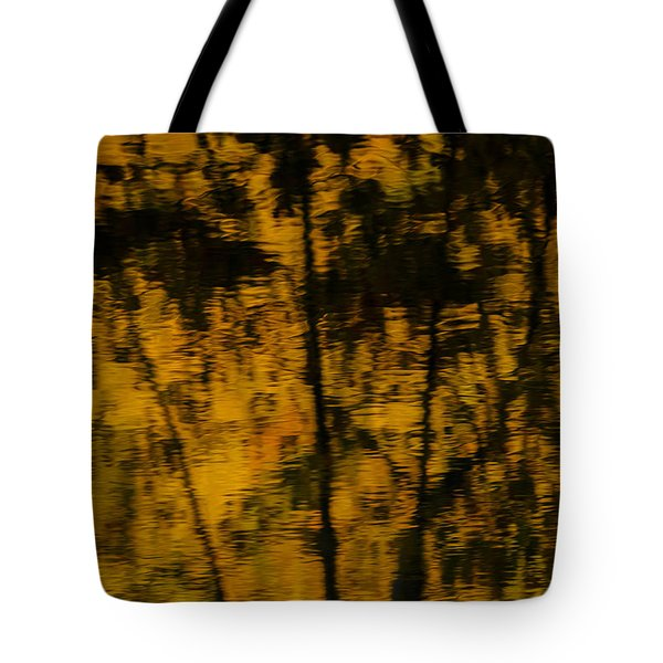 Fall Reflections 3 Tote Bag by Kevin Blackburn