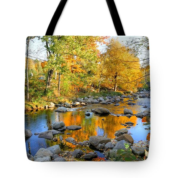 Fall Reflections In Jackson Tote Bag