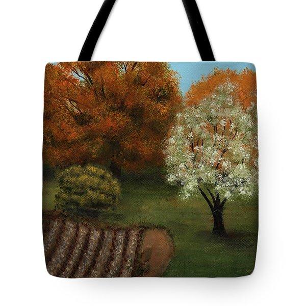 Fall Rendezvous Tote Bag