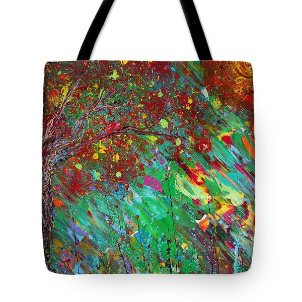 Tote Bag featuring the painting Fall Revival by Jacqueline Athmann