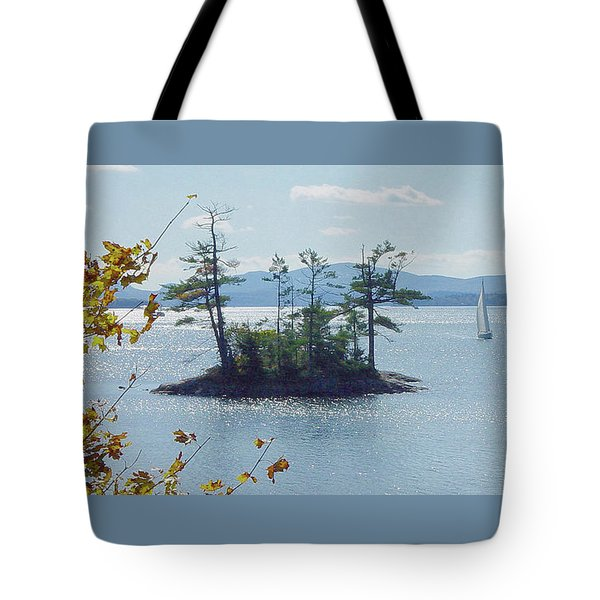 Fall Sailing Tote Bag