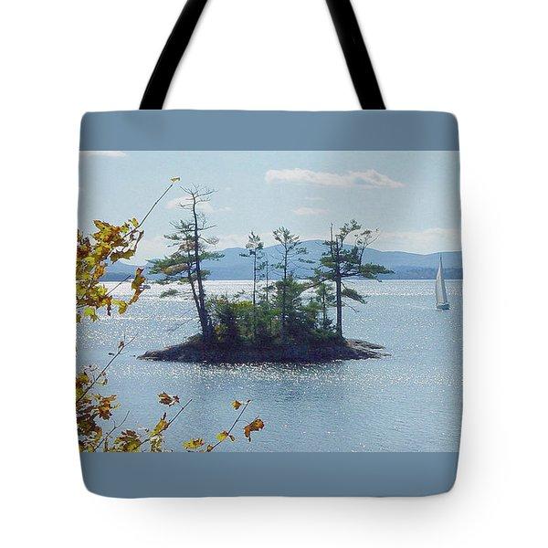 Fall Sailing Tote Bag