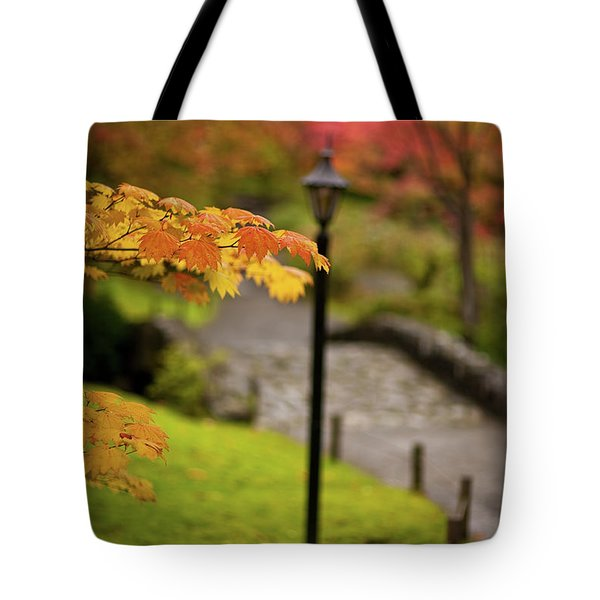 Fall Serenity Tote Bag by Mike Reid