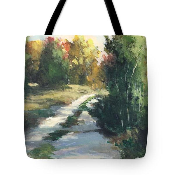 Fall Shadows Tote Bag