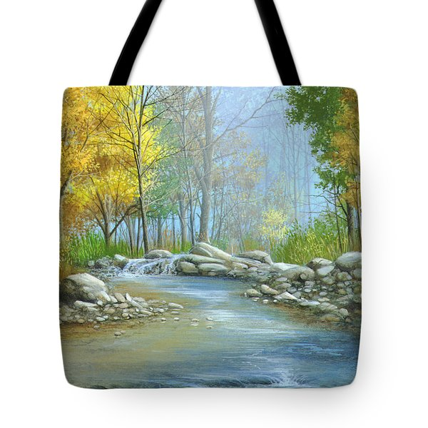 Fall Solitude Tote Bag