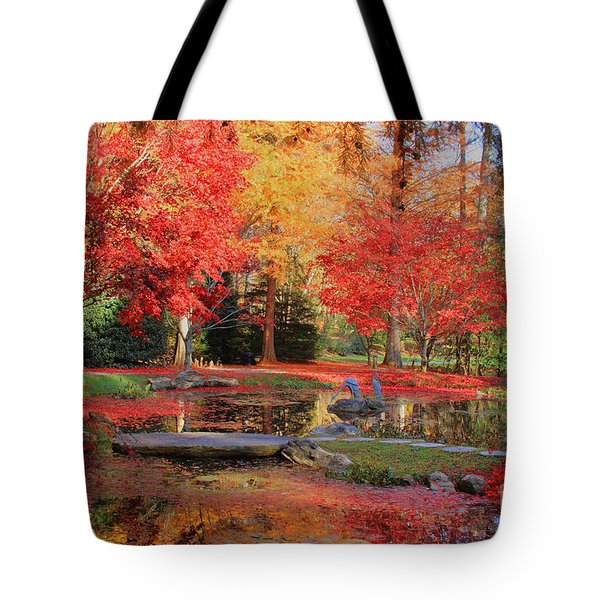 Tote Bag featuring the photograph Fall Spendor by Geraldine DeBoer