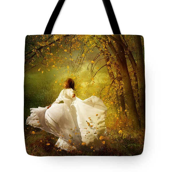 Fall Splendor Tote Bag by Mary Hood